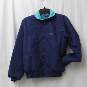 1980s Patagonia Fleece Lined Bomber Jacket 9/10